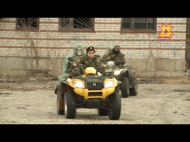 Чувашские кадеты стали призёрами оборонно-спортивного лагеря «Гвардеец 1»