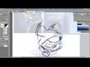 Animation speedpaint Run Joris