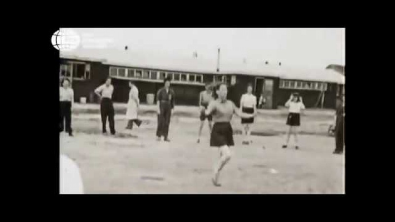 Еврейки танцуют в концлагере Вестерборк!