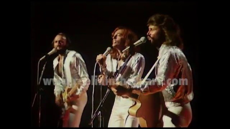 Bee Gees Stayin Alive LIVE 1979 (Reelin In The Years Archives)