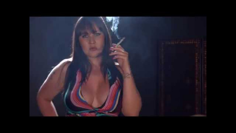 Amber Leigh Smoking all white 120s cigarettes