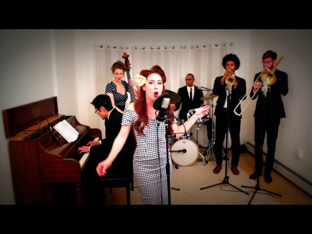 Smells Like Teen Spirit Nirvana 1940s Swing Cover by Robyn Adele Anderson