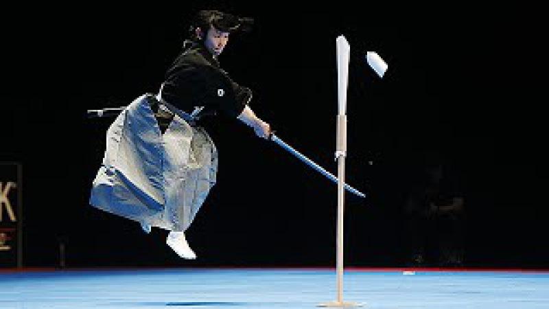 Le Sabre japonais Tenshin Ryu au 30e Festival des Arts Martiaux