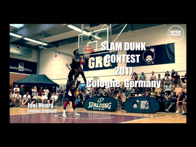 Joel Henry Shuts Down The Slam Dunk Contest in Cologne, Geramay