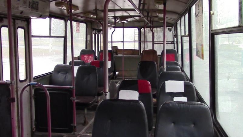Салон троллейбуса Зиу 682 Г г Тольятти