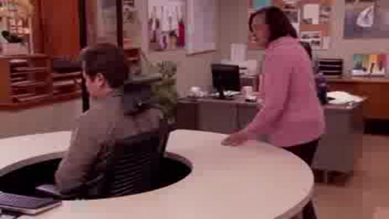 Parks and Recreation - Ron Swanson and the Swivel Chair