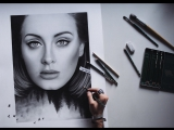 ADELE - HELLO (Male Version + Drawing by Toni Mahfud)