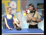 Змея кусает Стива Ирвина в прямом эфире детского телешоу, 1991 год (Avi vines)