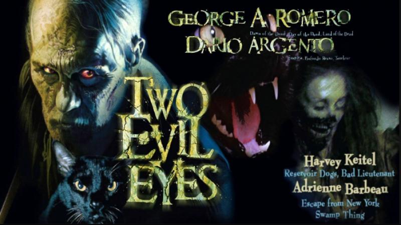 Два злобных взгляда / Two Evil Eyes (1990) CULT CINEMA