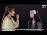Snowflake makeup with SUJI of 'Real girls Project' (With subs) 아이돌마스터 수지와 함께하는 눈꽃 메이크업