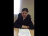 9 жасар оралман қыздың министрге жазған хаты қазақстандықтардың жүрегін ауыртты