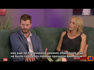 Джейми и Джиллиан говорят о третьем сезоне Краха (русские субтитры__rus sub)