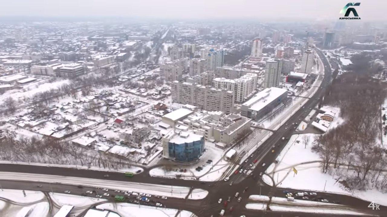 Жителям Харькова показали 421-й микрорайон с высоты (ВИДЕО)