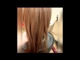 Ботокс волос и окрашивание - изменение и преображение. Работа Лазаревой Анны. Модель Оксана К.