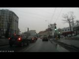почти ДТП. Калининград. ул Гагарина