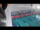 Я плавал 24.12.2016.Я на соревнованиях по плаванью . Я на первой дорожке.