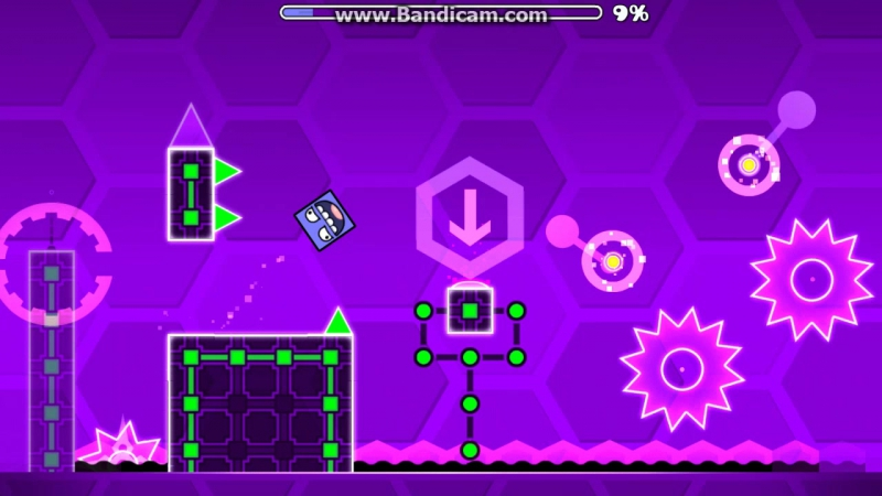 GeometryDash Hexagon force 100%