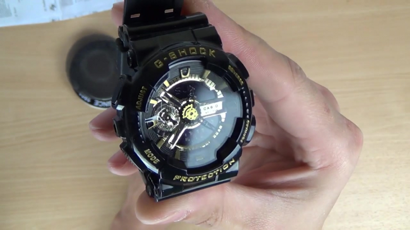 Часы CASIO G SHOCK GA 110