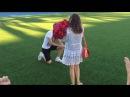 Самое футбольное предложение руки и сердца!