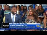 50 Cent and Naturi Naughton on 'Power' Good Morning America (Jun 26, 2017)