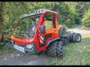 AEBI VT450 аналог CARON CTS RASCO MUVO транспортёр трактор с платформой 6 0 т прицеп 12 т