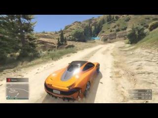 скоростная полиция на рампах в GTA 5 ONLINE