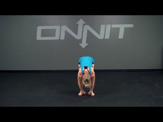 Standing Spinal Roll to Chest Opener Bodyweight Exercise