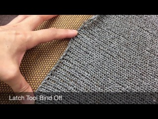 Latch Tool Bind Off Edge | Knitting Machine | by GemFOX