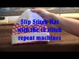 Slip Stitch Hat with a 12 stitch punch card