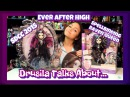 Drusila Talks About : Ever After High Spellbinding Raven Queen vs. SDCC 2015 Raven Queen