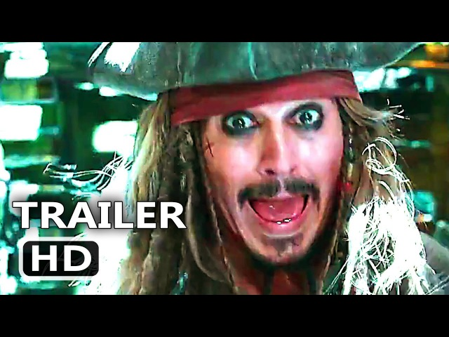 PIRATES OF THE CARIBBEAN 5 Official Trailer 4 (2017) Dead Men Tell No Tales, Disney Movie HD