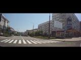 Автопрогулка по центру Донецка 2 (правильная музыка)