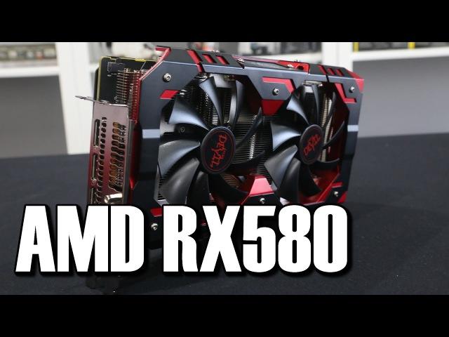 AMD RX580 GPU Review Powercolor Devil