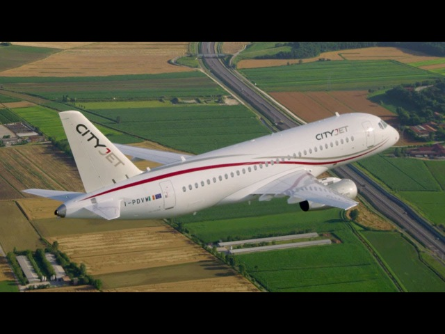 AIN.tv How SSJ Helps Airlines Like Cityjet to Expand Networks Profitably