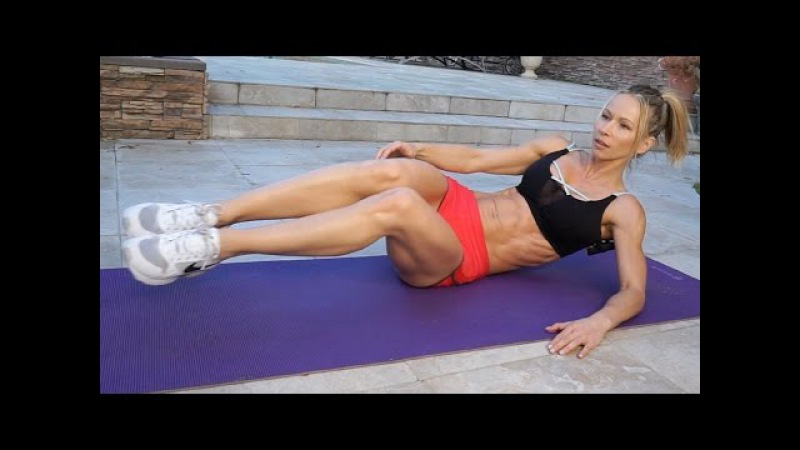 5 Minute Fat Burn Workout 121 - ABS!