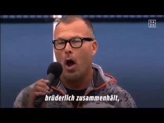 Americanos cantam versão nazi do hino alemão em jogo de ténis