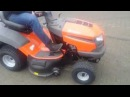Traktor traktorek do koszenia trawy Husqvarna TC 138 Husqvarna Poznań