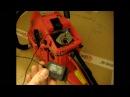 Как отрегулировать карбюратор китайской бензопилы to adjust the carburetor of chainsaw