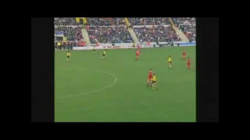 Ian Wright Vs Swindon Town 0-4