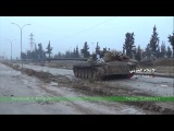 Scenes from battles to control the youth housing east of Aleppo and insurgents to inflict heavy losses