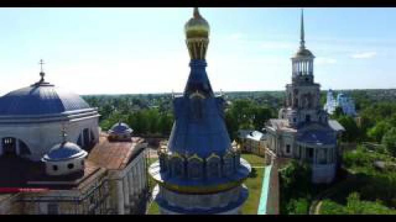 Торжок. Борисоглебский монастырь. Введенская церковь Torzhok. 4K