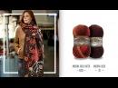 Zincir işi şala etkili ve güzel bir örnek Effective and beautiful pattern to chain work shawl