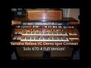 Yamaha Reface YC Demo Igor Crimean Solo 670 4 Full Version!