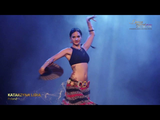 Katarzyna Lidia - ATS® Tribal Fusion with Fan - Dance Weekend in Warsaw