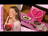 Шоколадная открытка - валентинка своими руками