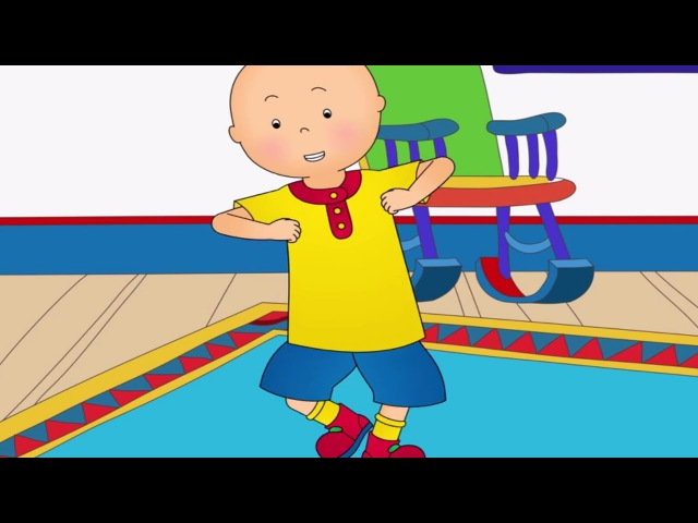 Funny Animated cartoons Kid | CAILLOU DANCE COMPILATION | WATCH ONLINE | Cartoon for Children