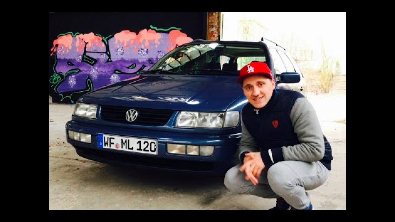 Забрали старого немца Фольцваген Пассат 1,8 мотор 1993 год VW Passat:):):):)