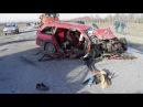 Жестокие смертельные ДТП 16 Страшные аварии Жуть на дороге Дураки и дороги 2017
