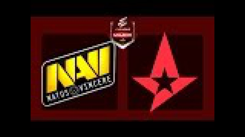 Navi vs Astralis - ELEAGUE Atlanta Major 2017 - Astralis vs Natus Vincere - BO3 - map1 de_overpass