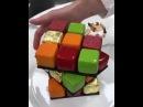 Торт кубик- рубика